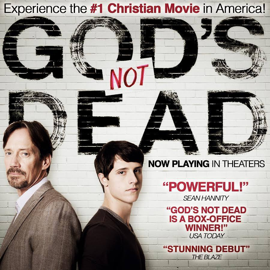 a review of the movie gods not dead Of course, no god's not dead movie would be complete without the newsboys, who finish with a rocking and inspiring number finally, you might want to stay in your seats until the credits are finished rolling.